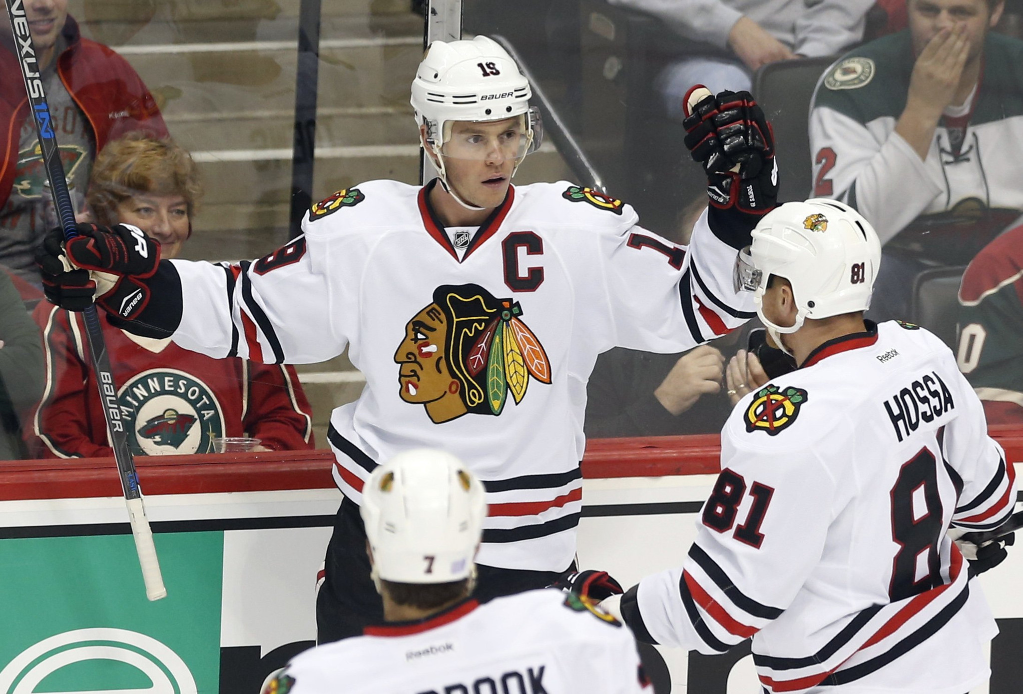 Wild exact small measure of retribution over Blackhawks with 5-4 victory
