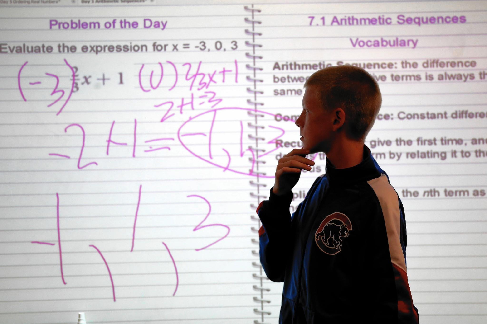 Should kids take algebra before high school? New state data highlight issue