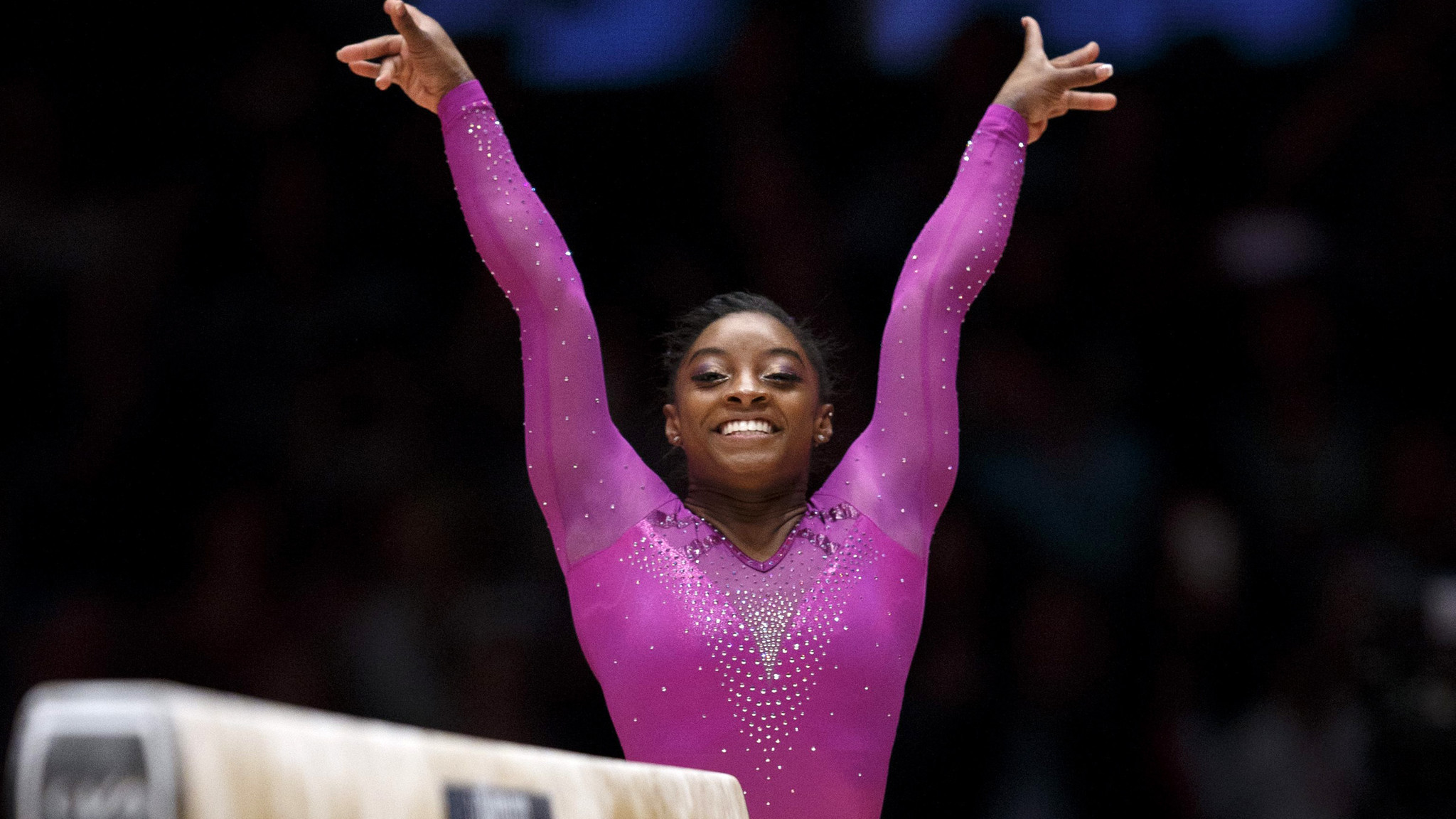 Simone Biles Wins Record 10th Gold At World Gymnastics
