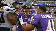 Ravens 29, San Diego Chargers 26
