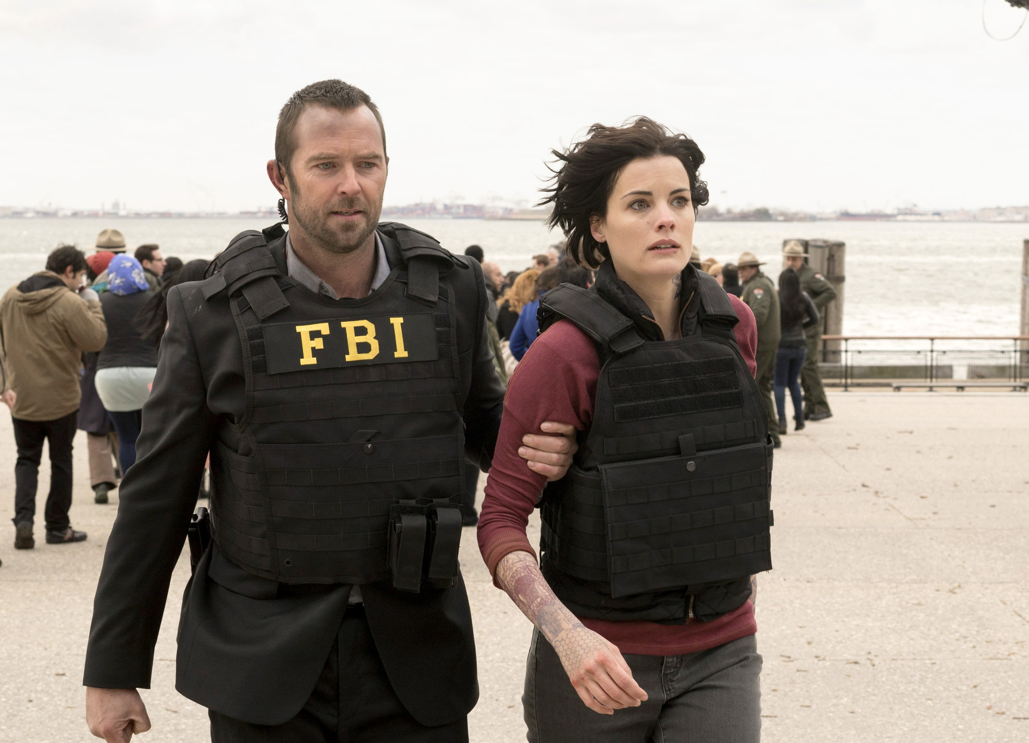 39 blindspot 39 bosses talk fan theory accuracy and knowing for Can fbi agents have tattoos