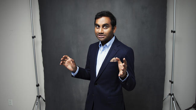 """Aziz Ansari was nominated for three Emmys for """"Master of None."""" (Jesse Dittmar / For The Times)"""