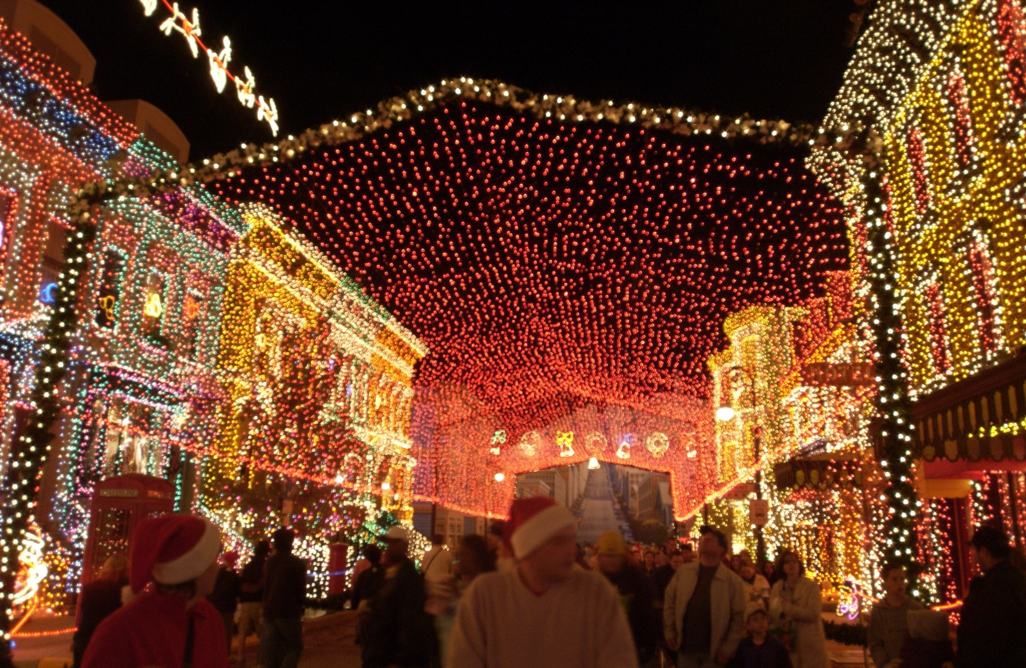 Disney ready to turn osborne lights on one more time for Places to visit in christmas in usa