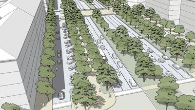Clean slate on Universal Boulevard offers vast redesign potential within Vision Plan
