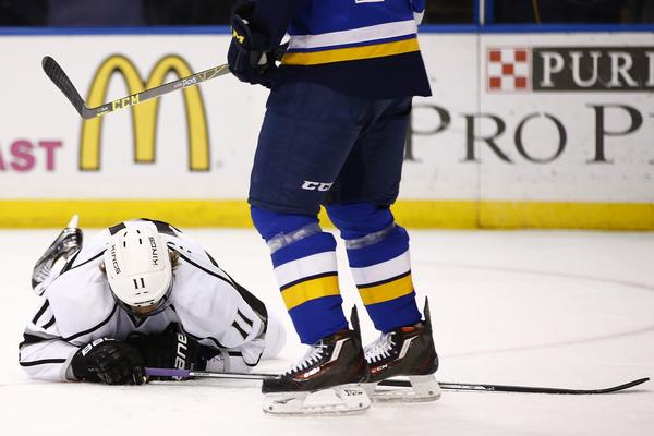 Blues' Ryan Reaves Fined More Than $3,000 For Hit On Kings' Anze Kopitar