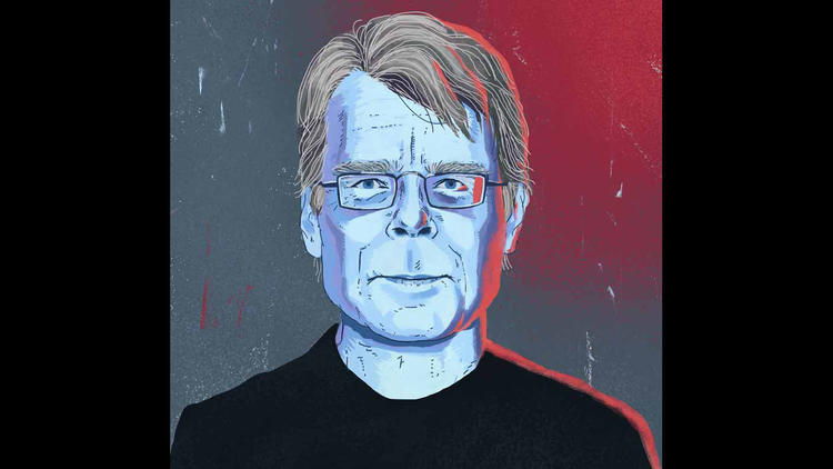 Portrait of Stephen King. (Joy Saavedra / For The Times)