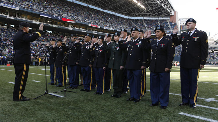 Pentagon spends millions paying pro sports teams to honor soldiers at games