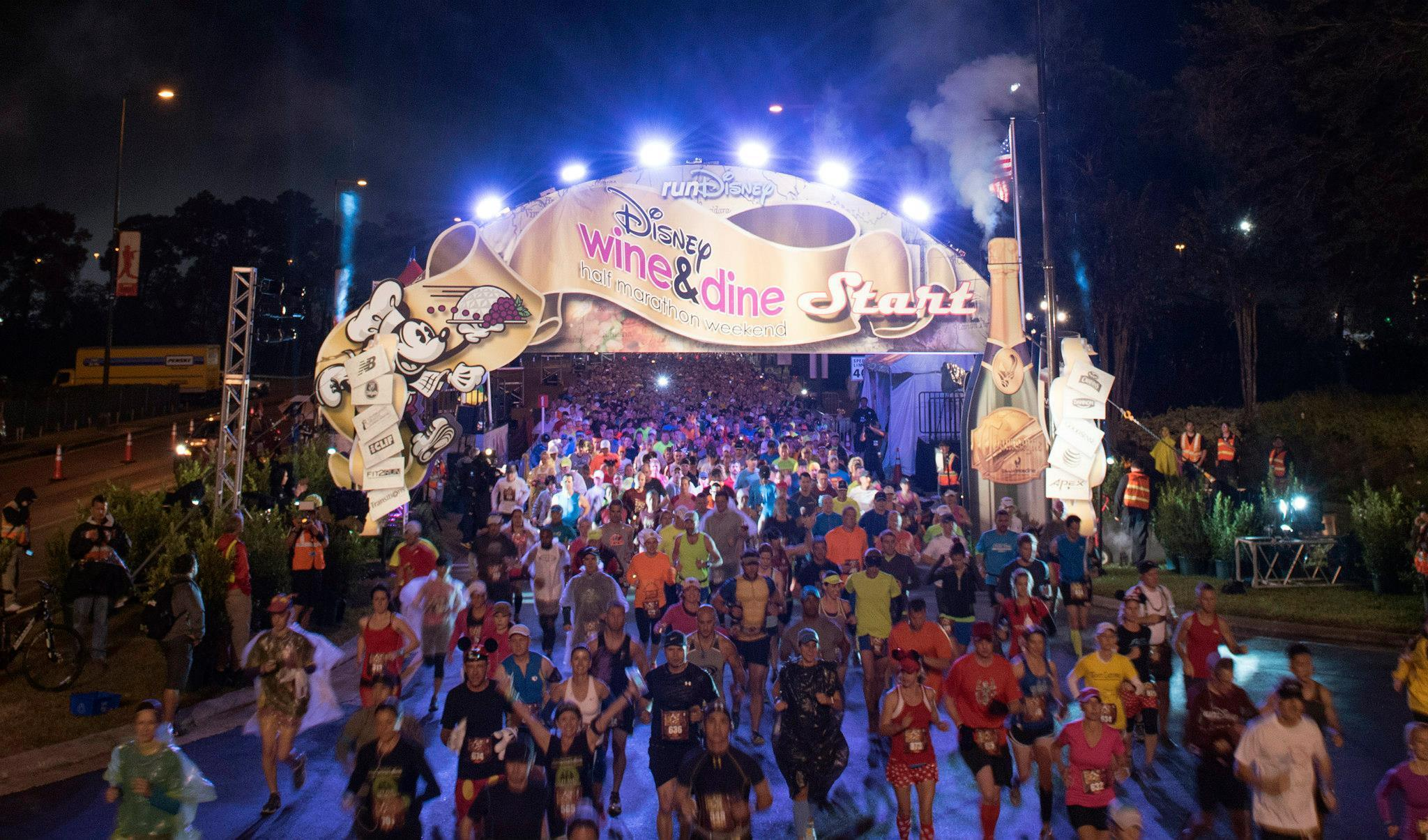 Disney Wine And Food Festival  Half Marathon