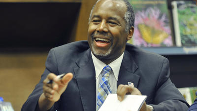 Can Ben Carson expand his base beyond evangelicals and stay on top of the GOP field?