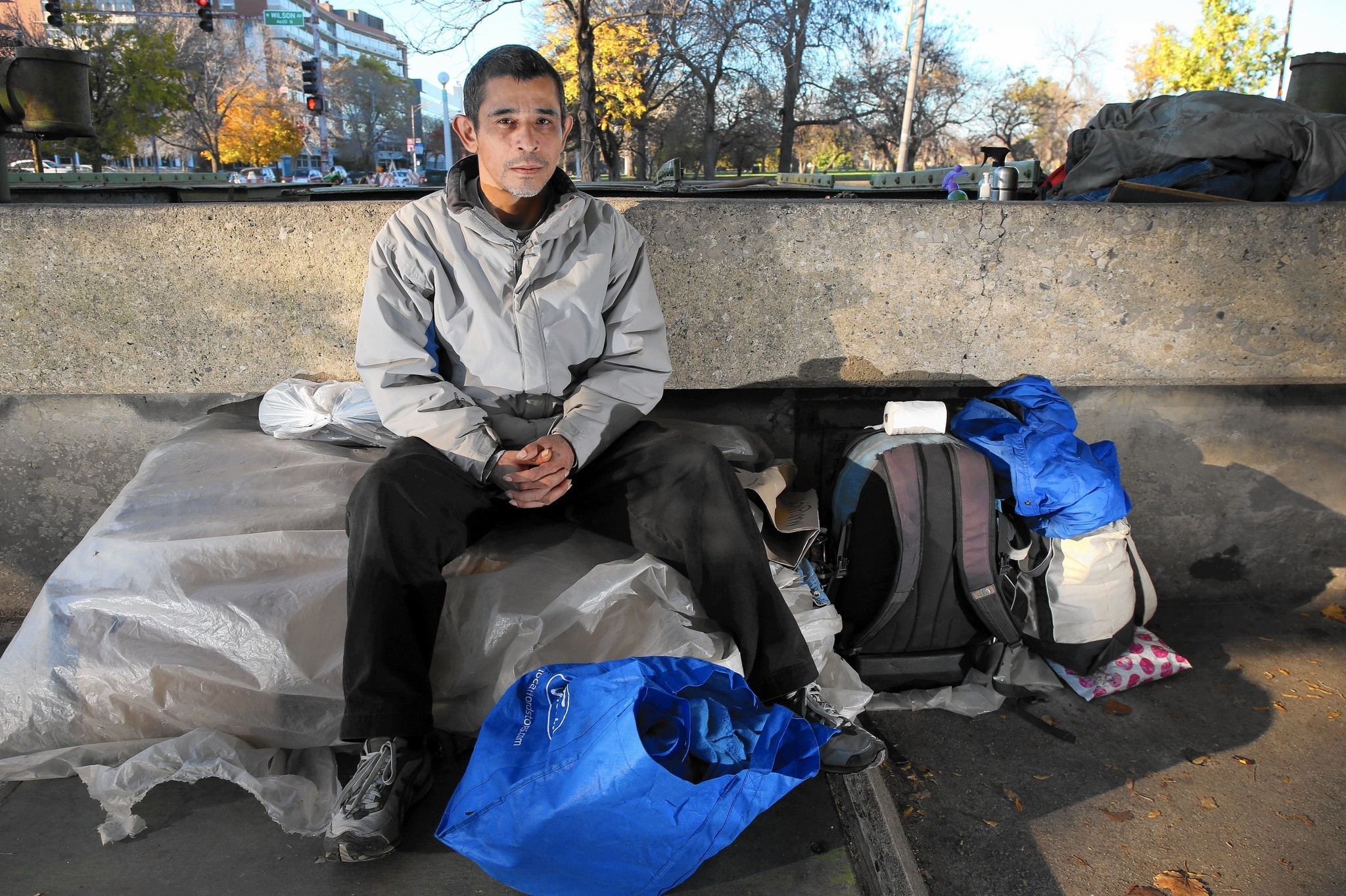 Possessions Chicago Says The Homeless Can And Can T Have