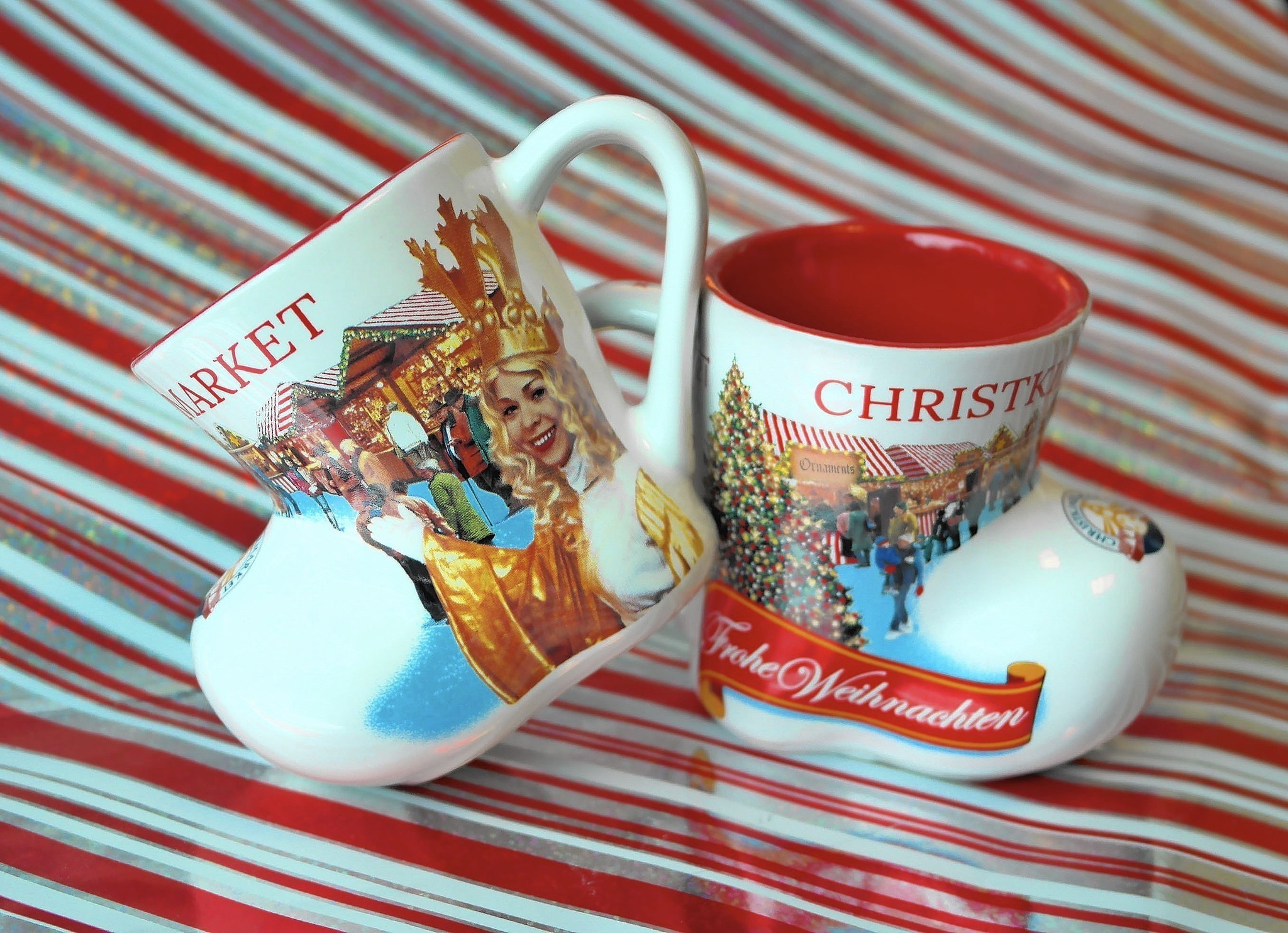 Chicago The Christkindlmarket Boot Mug Returns Christmas