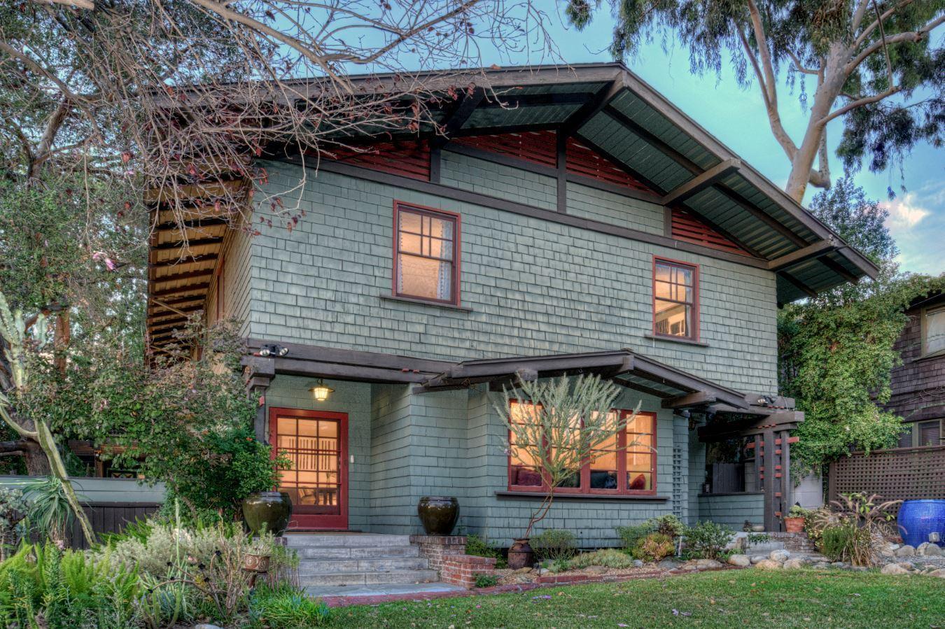 The art of craftsman weekend in pasadena la times for Pasadena craftsman homes