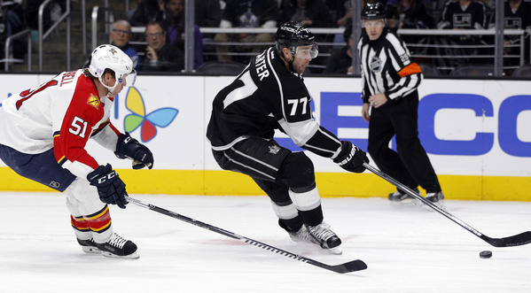 Second Line Continues To Power Kings As They Beat Panthers, 4-1