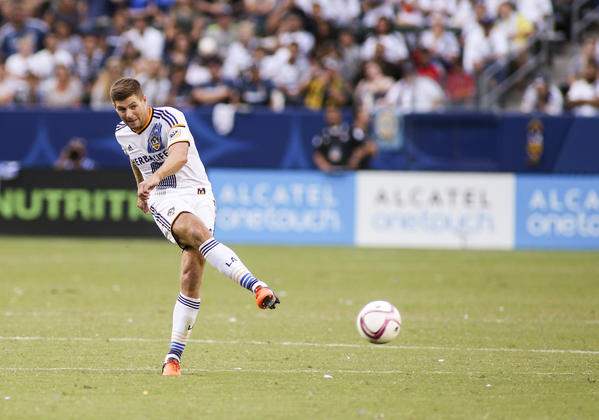 Steven Gerrard's future with the Galaxy is uncertain