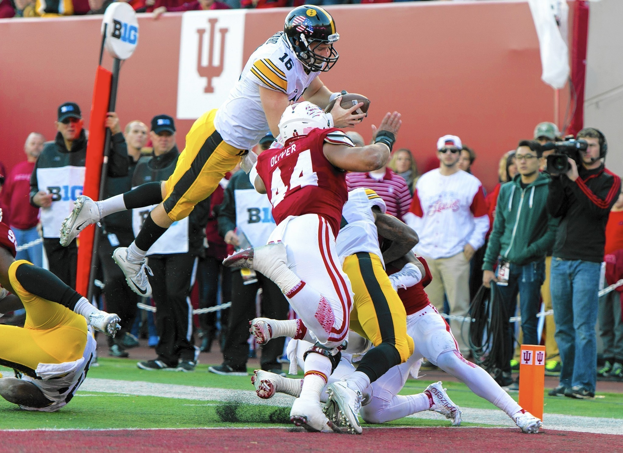 Image result for indiana iowa football