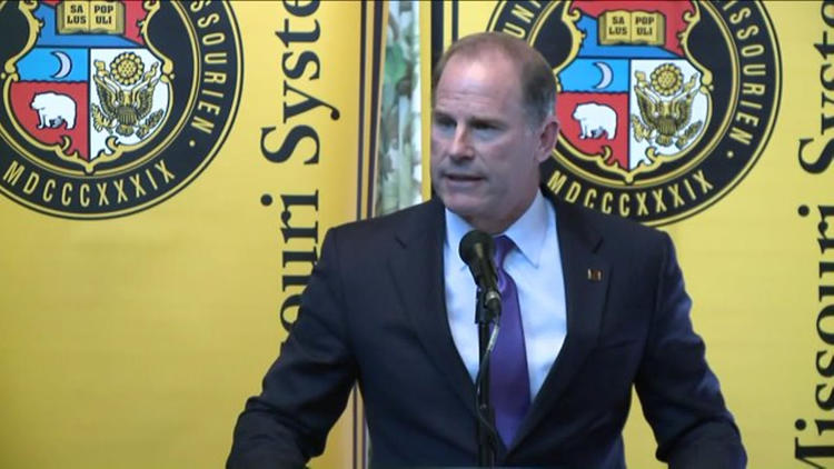 Tim Wolfe resigns as Univ. of Missouri System president