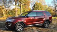 Ford strikes platinum with 2016 Explorer SUV