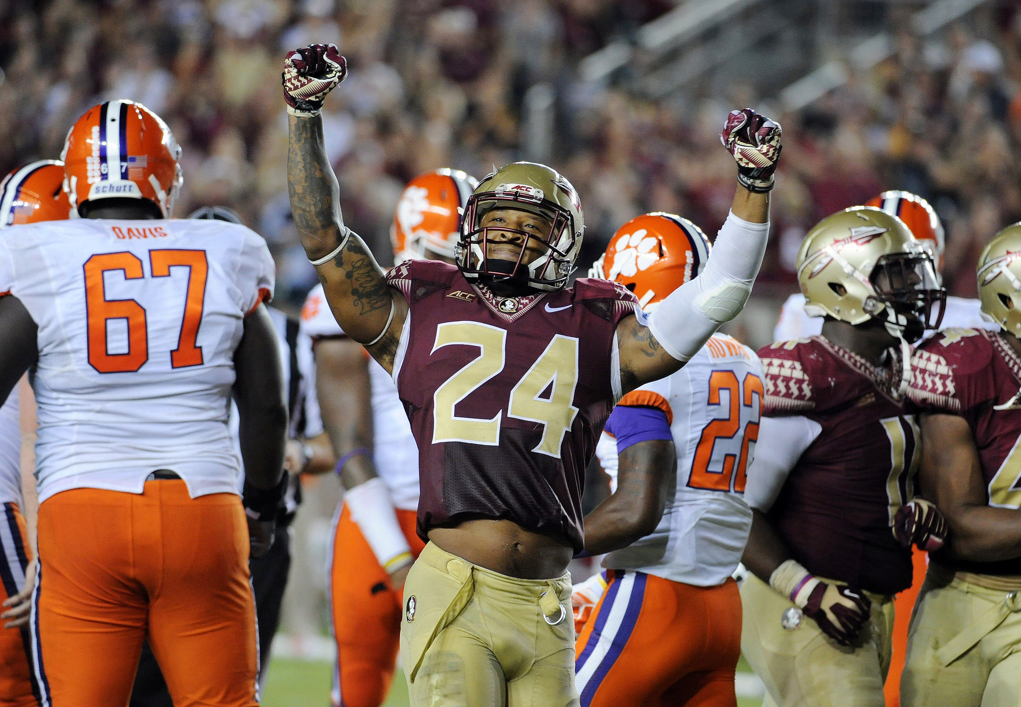offensive lineman likely Derrick FSU out season Kelly for