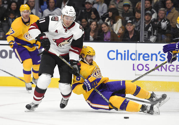 Mistakes Cost Kings In 3-2 Loss To Coyotes