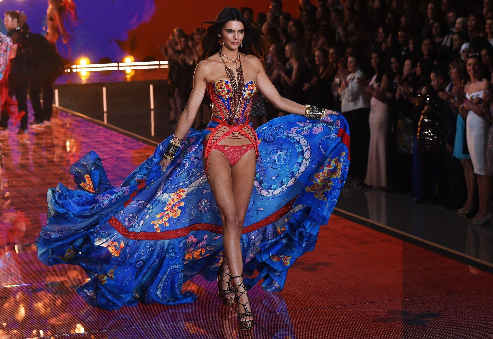 First victoria's secret fashion show