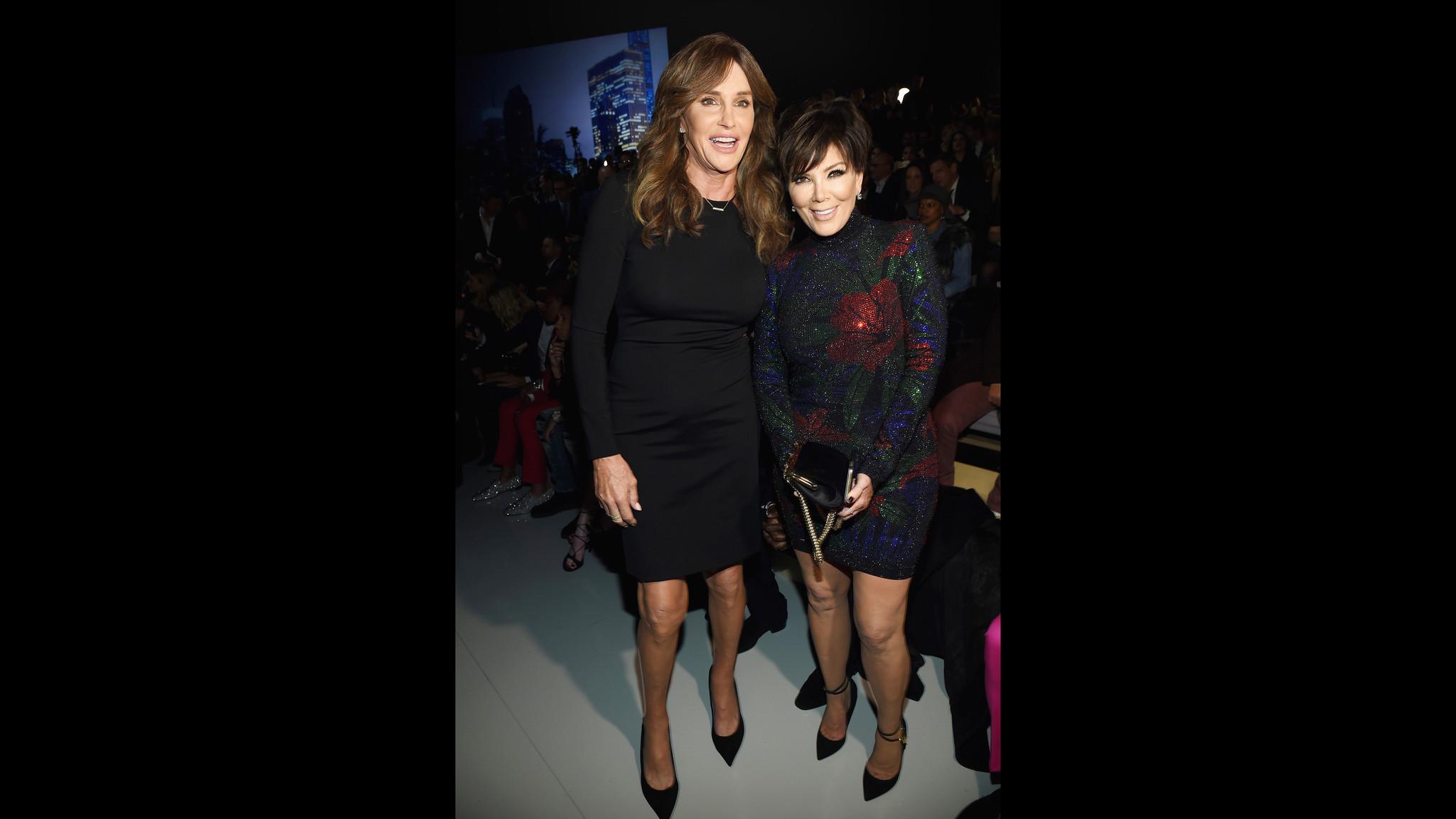 Front Row At The 2015 Victoria 39 S Secret Fashion Show La Times