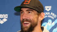 Michael Phelps says he's 'giddy' with excitement as he begins pre-Rio races