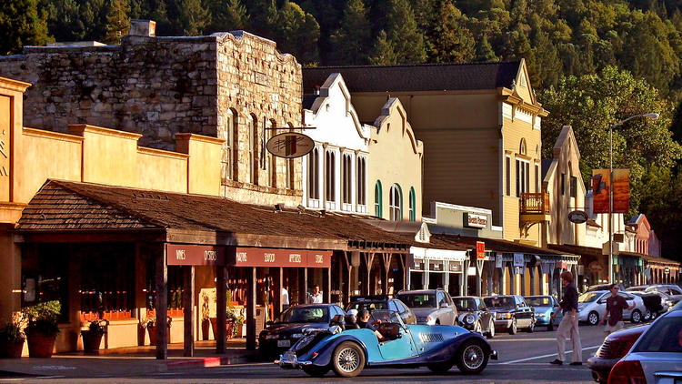 A weekend escape to Calistoga, Calif.