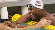 Giles Smith (McDonogh) beats Michael Phelps in 100 butterfly as focus turns to Olympics