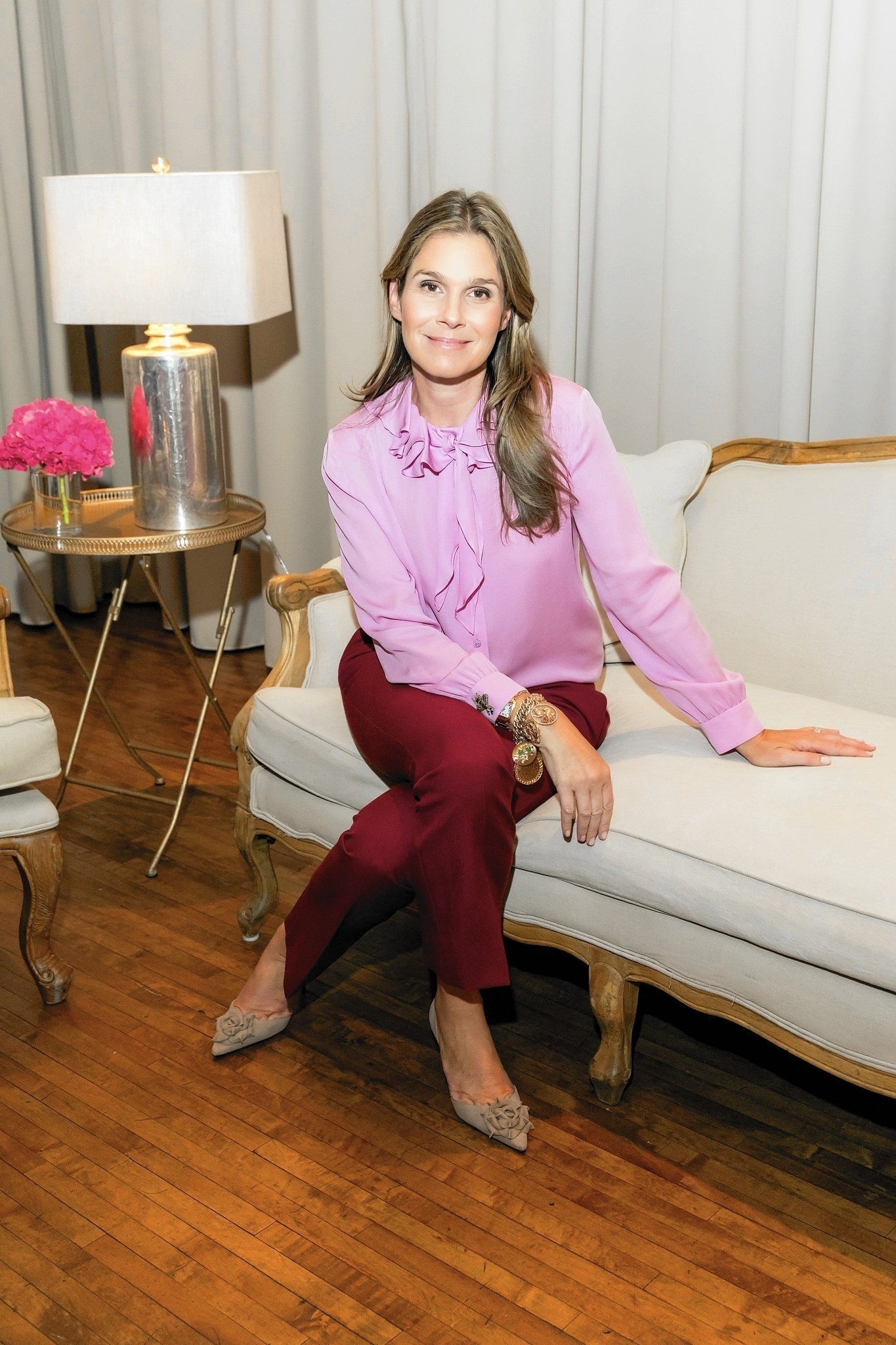 Holidays are coming up roses for Aerin Lauder