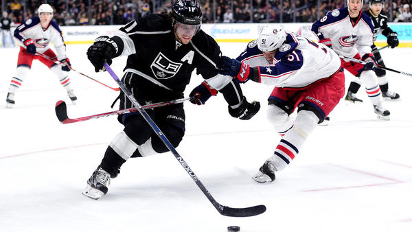 Kings' Anze Kopitar Sits Out Practice But Is Said To Be Fine