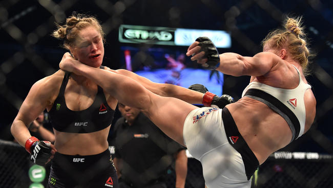 ronda whooped