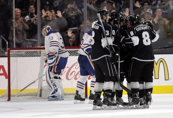 Nick Shore Lifts Kings To 4-3 Win Over Oilers