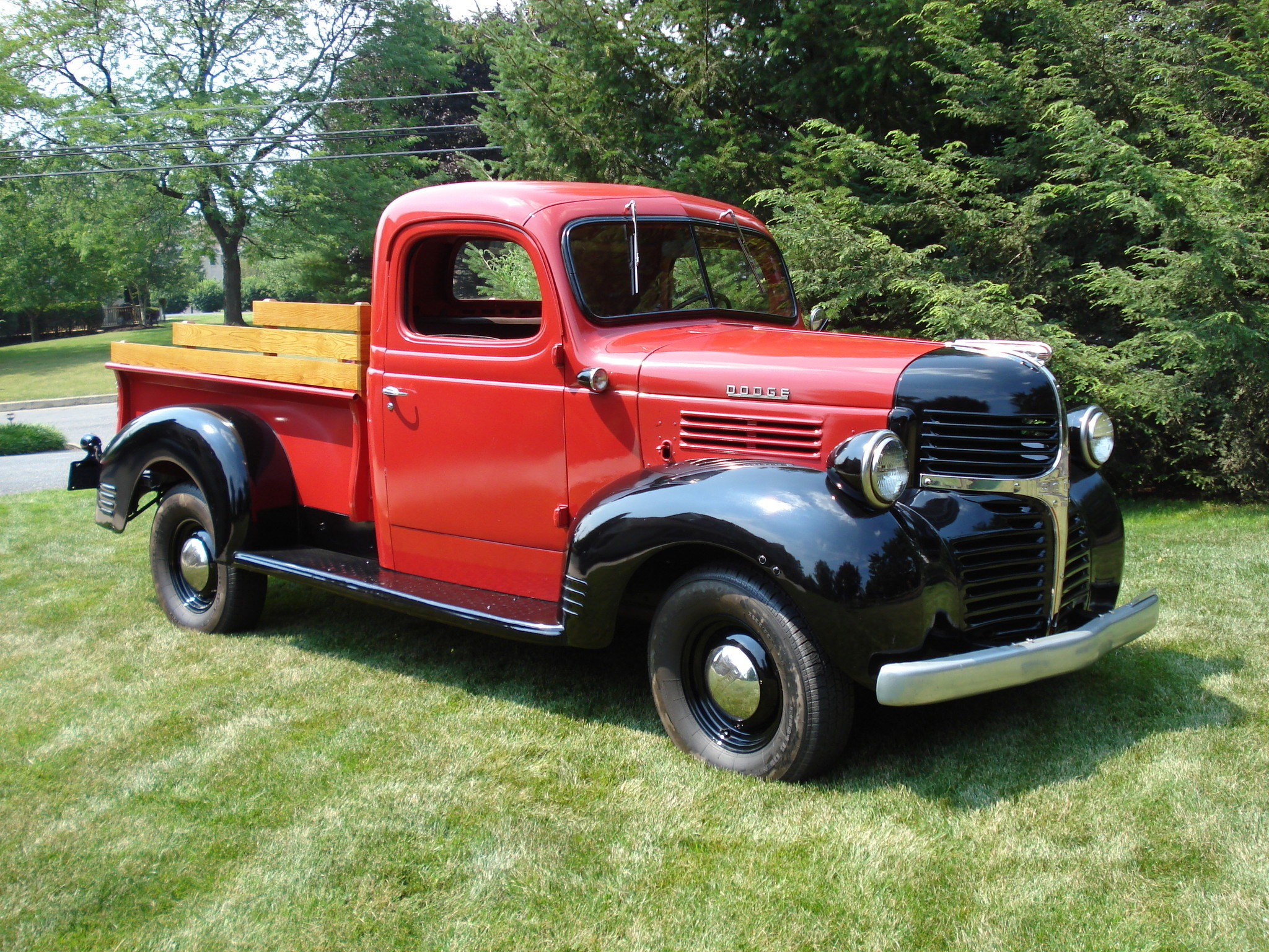 1946 Dodge WC Pickup - The Morning Call
