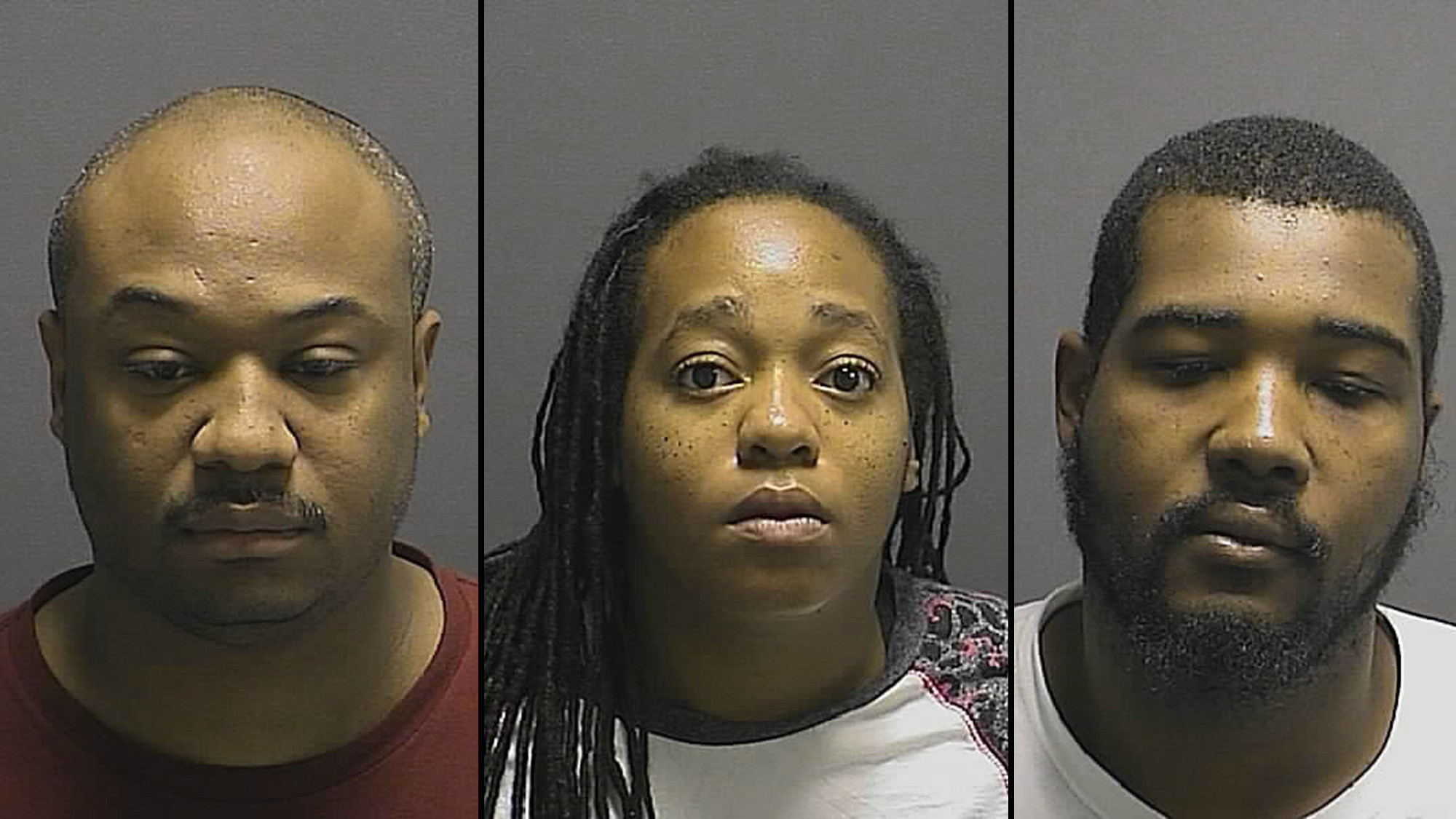 Howard police break up prostitution ring charge three with human