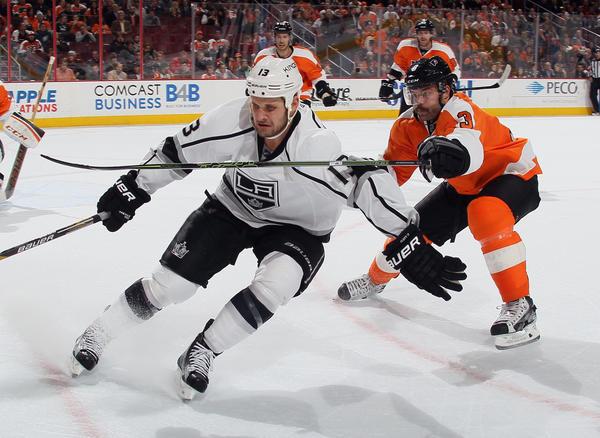 Anze Kopitar's Shootout Goal Lifts Kings Over Flyers, 3-2