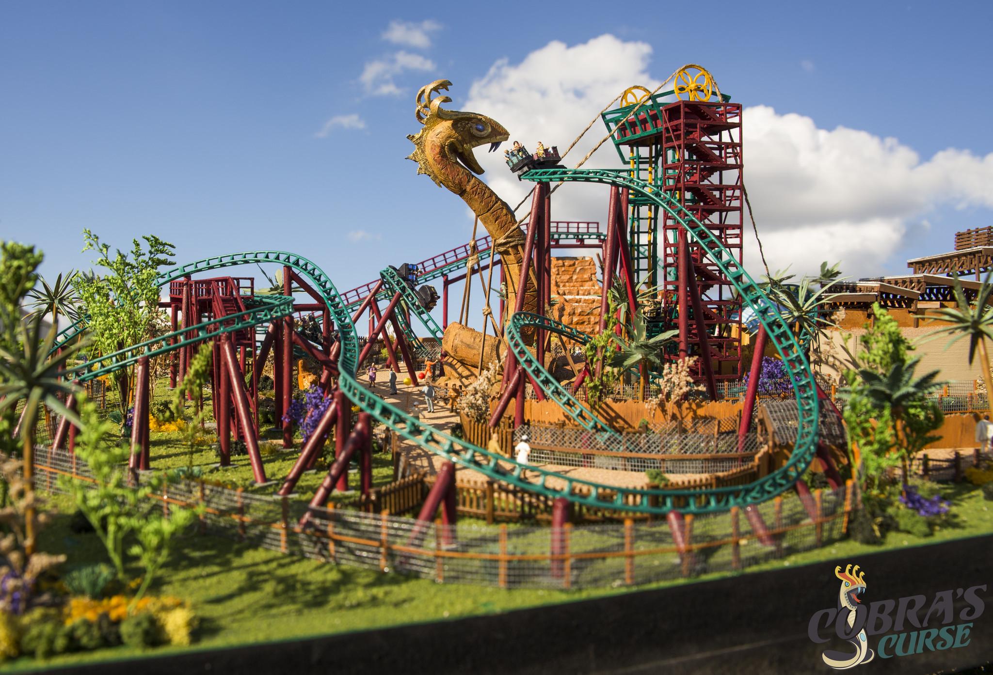 Busch Gardens Shares Details About Cobra 39 S Curse Roller