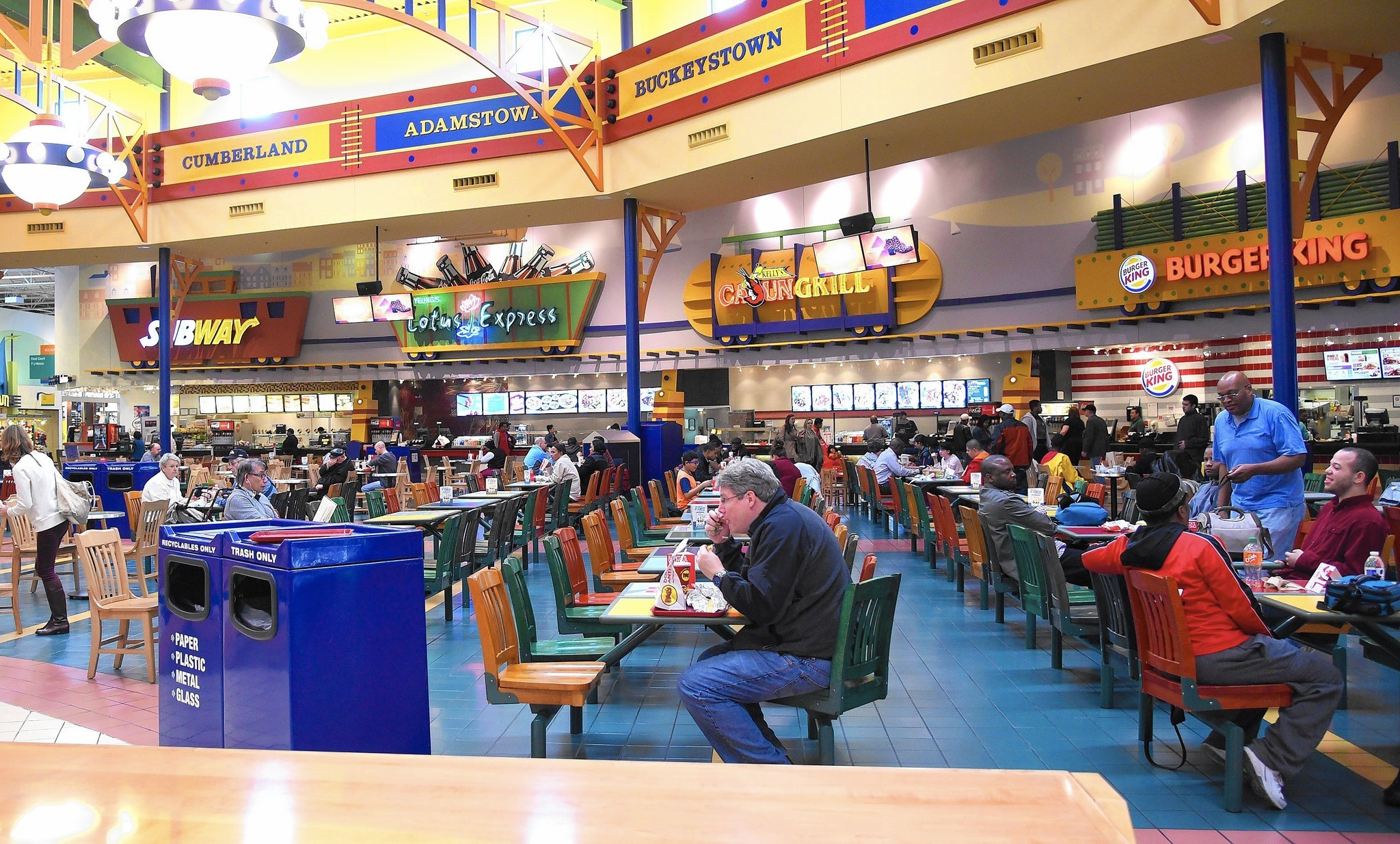 LET'S EAT. Discover an exciting selection of dining options including Buffalo Wild Wings, Dave and Buster's, DuClaw Brewing Company and more. CHECK IT OUT.