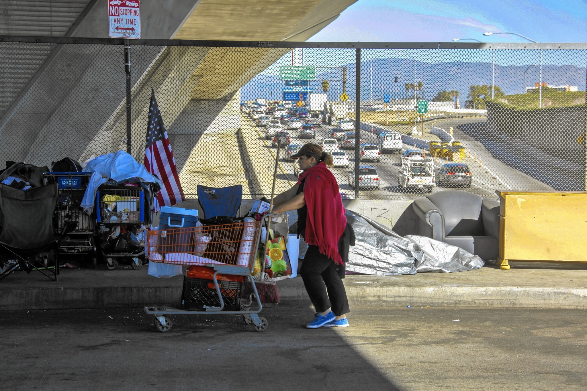 San Diego Homeless Population Climbs To Fourth Highest In The US - Chronic homelessness across the us map