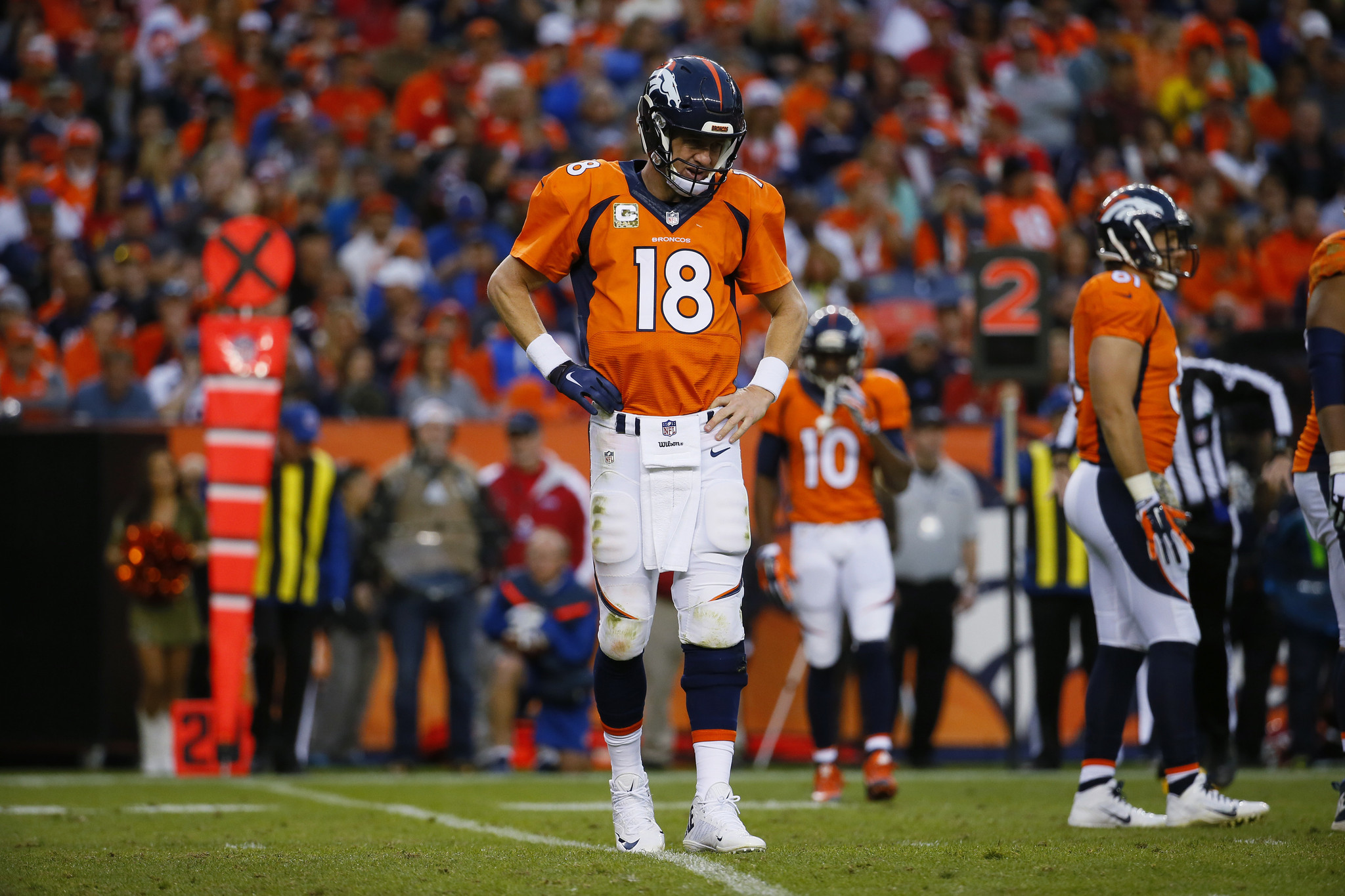 Peyton Manning: It may be over; it should be over
