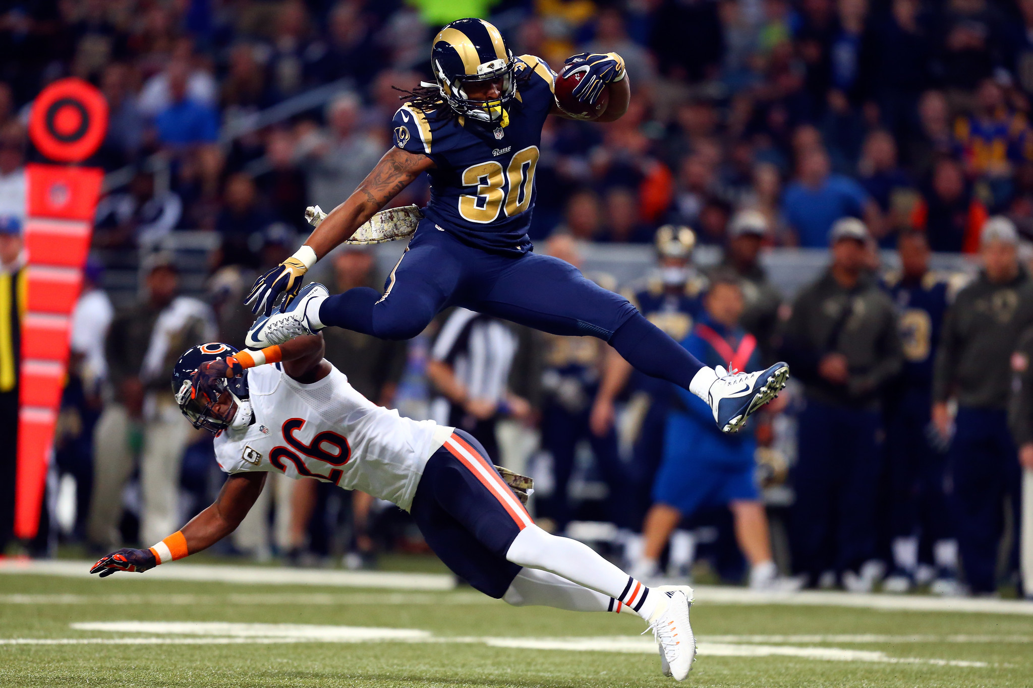 Ravens high on praise for Todd Gurley but up for Sunday s
