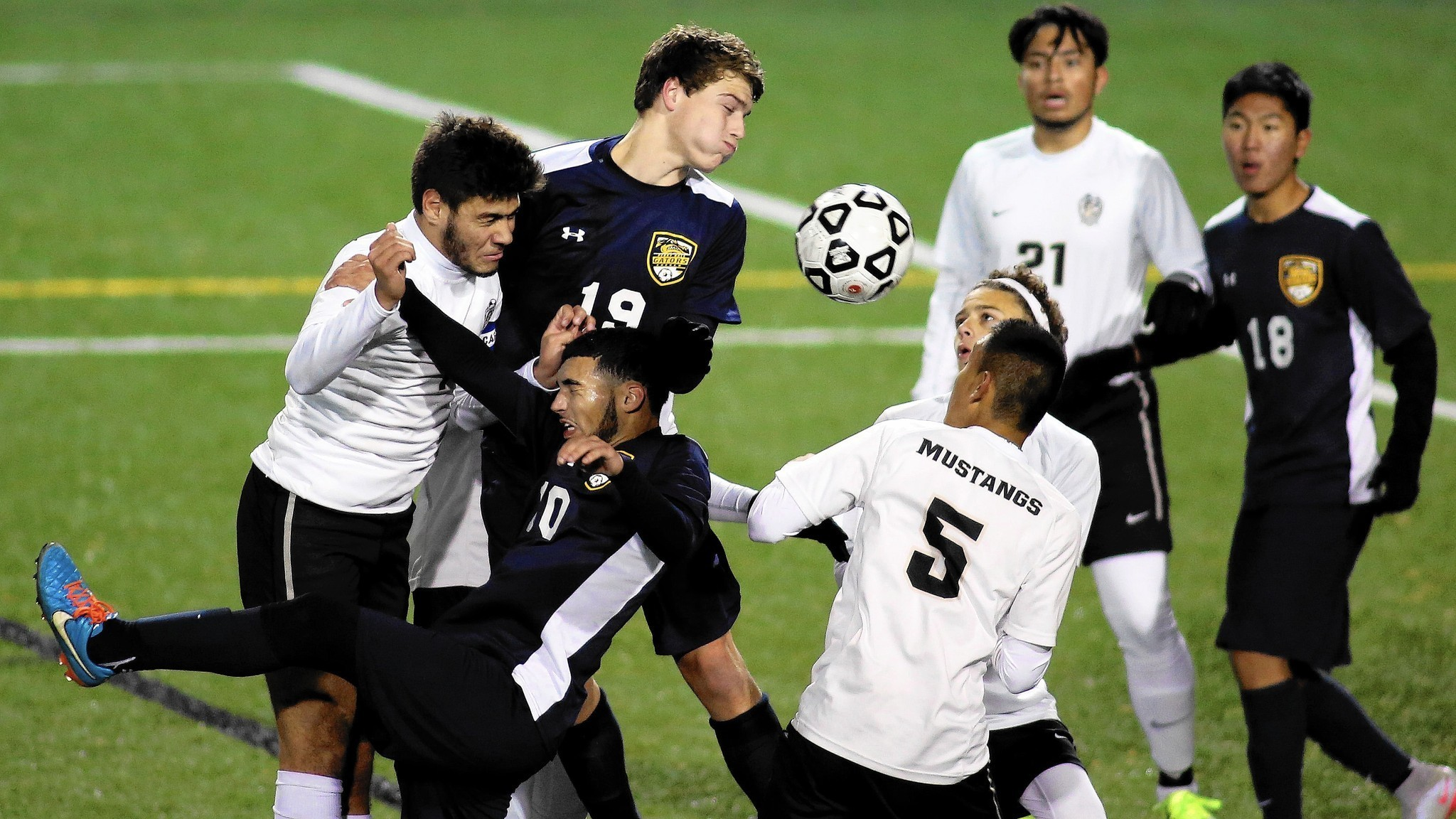 Perry Hall Pounces On Meade For State Title