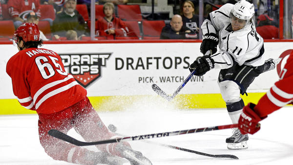 Kings Show A Lack Of Discipline In 4-3 Loss To Hurricanes