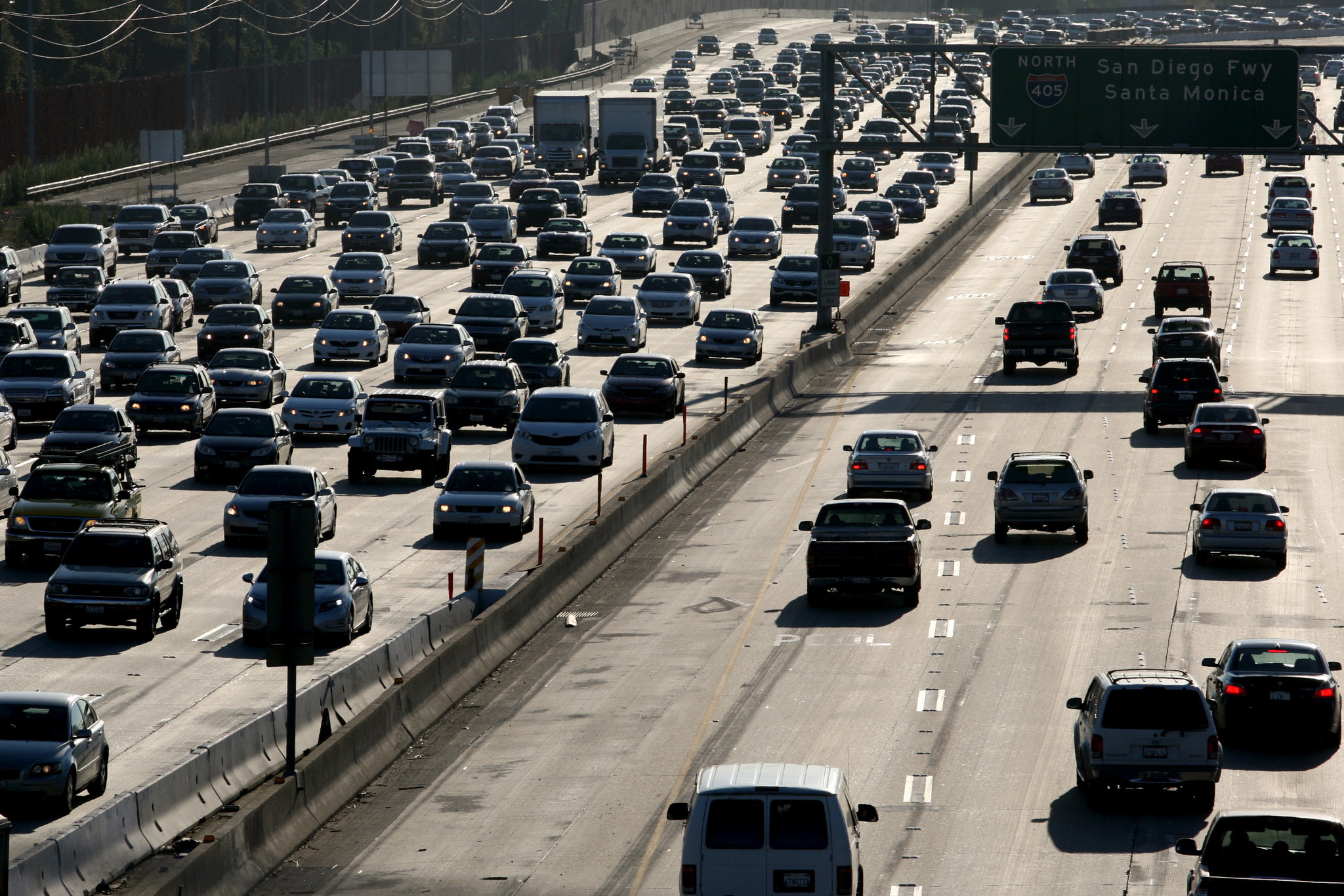 Study Onethird Of Nations  Worst Traffic Bottlenecks Are In - Los angeles freeway map traffic