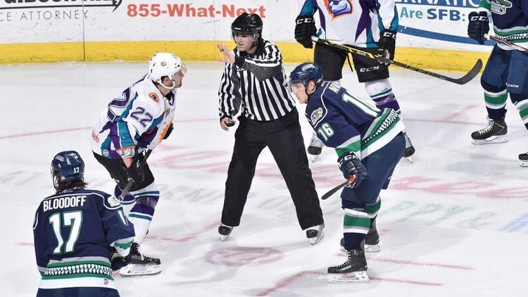 Camden Nuckols, who went to Lake Mary Prep and UCF, was a linesman for a total of 63 ECHL games. He died on Nov. 17 after a brief illness.