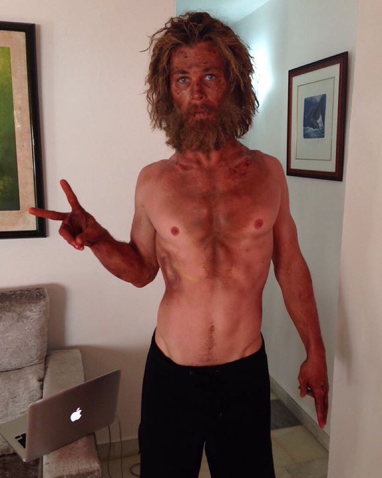 Chris Hemsworth Shares Super Skinny Look From In The