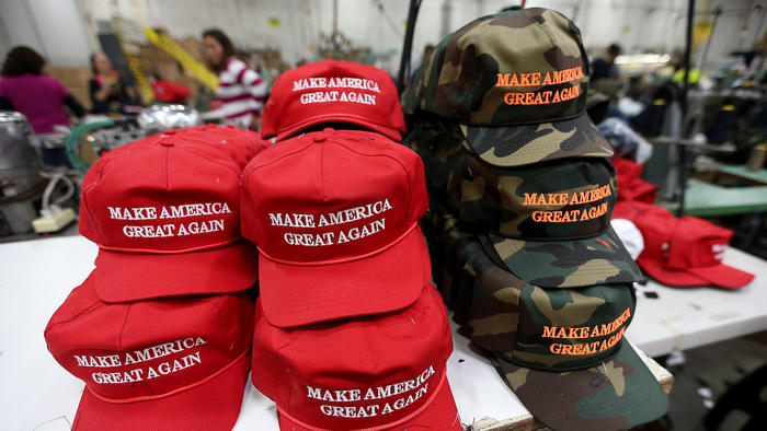 ... makes the Donald Trump hats #WakeUpAmerica #Trump2016 | remember1986