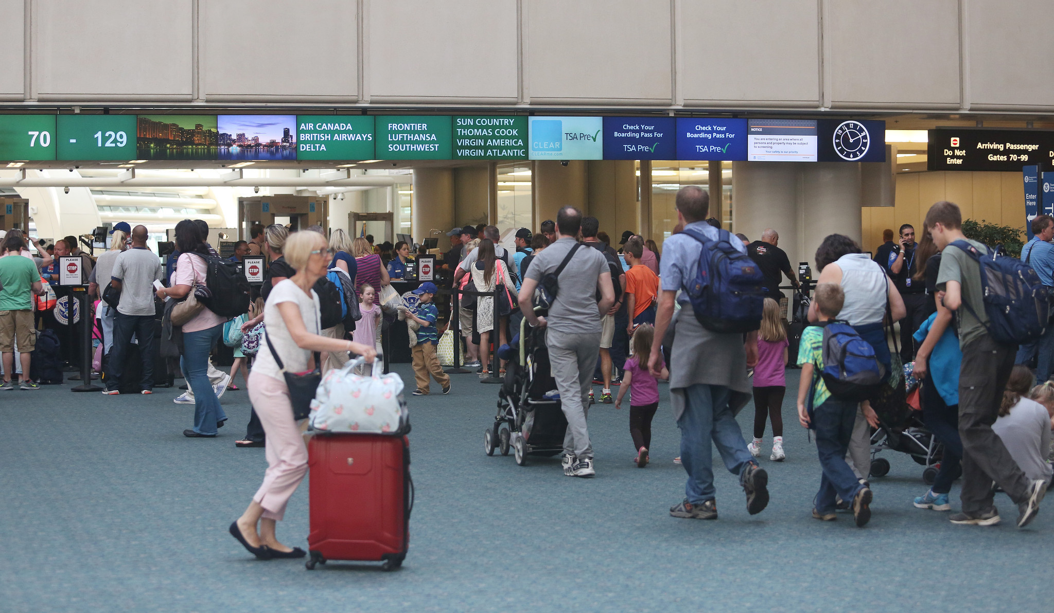 Study Orlando International Seventh Busiest Airport This - The 10 busiest us airports at thanksgiving