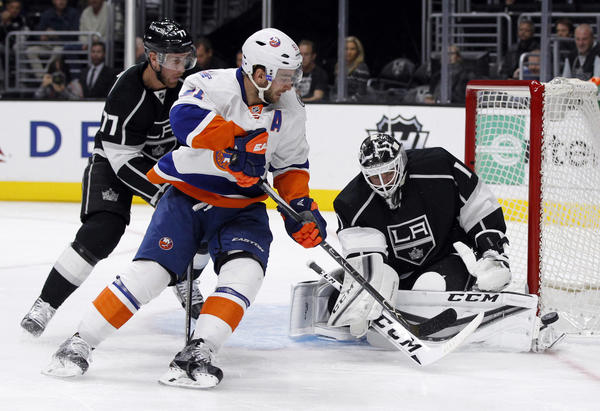 Kings' Backup Goaltender Jhonas Enroth Is Ready When Called Upon