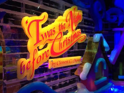 <p>'Twas the Night Before Christmas is the theme for the annual ICE! attraction at Gaylord Palms in Kissimmee for 2015.</p>
