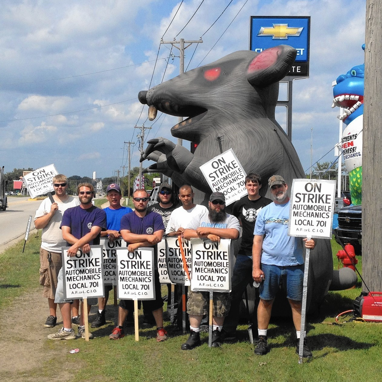 Lengthy strike settled at al piemonte chevrolet in east dundee elgin courier news